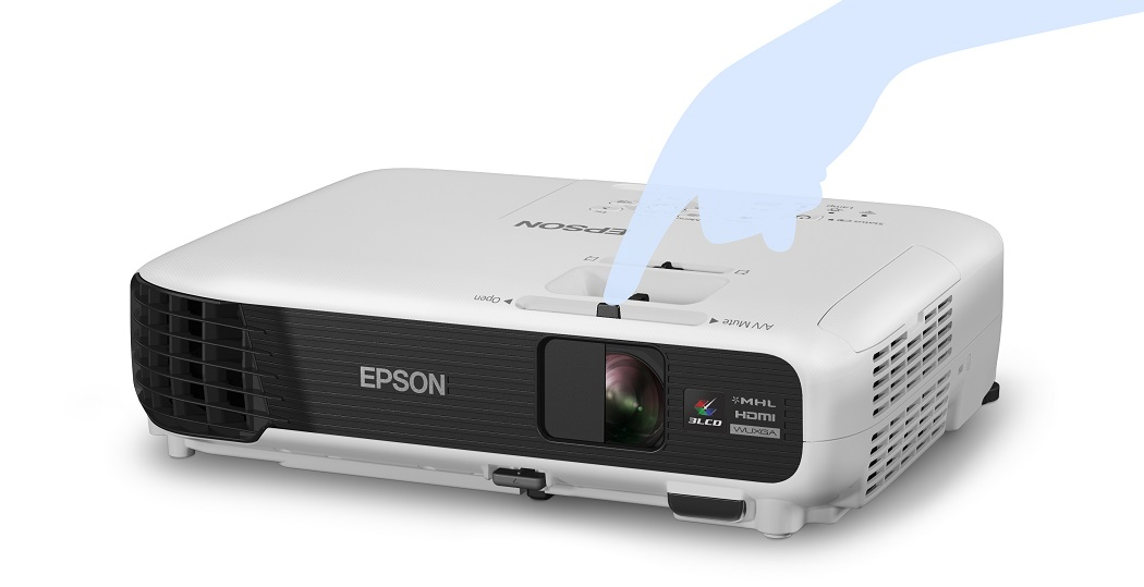 how to connect my tablet to epson projector