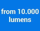 from 10.000 lumens