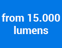 from 15.000 lumens
