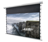 DELUXX Cinema Electric Screen Tension 221 x 124 cm, 100 Zoll - 4k Pro Fibre MWHT