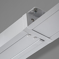 Built-in ceiling screen