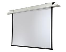 Ceiling recessed screen
