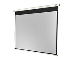 Manual pull-down screen