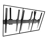 Chief 3x1 Portrait Videowall ceiling mounting, LCM3x1UP , 42