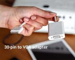 30-pin to VGA adapter