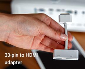 30-pin to HDMI adapter