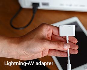 Lightning-AV adapter