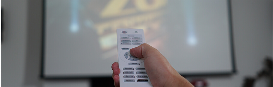 Control projector