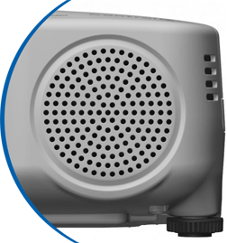 Projectors with integrated speakers