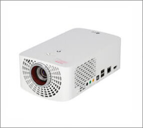 LED projector with Full HD