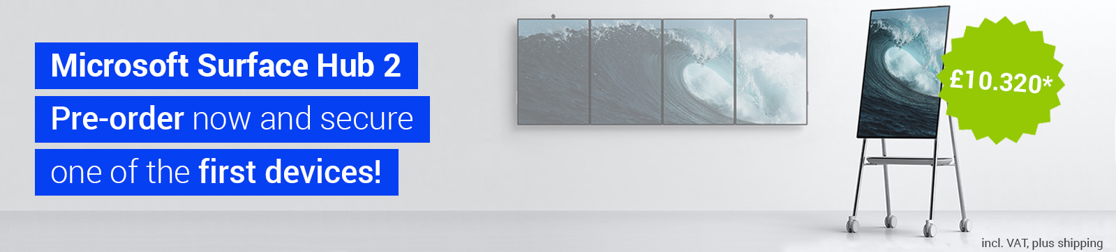 Microsoft Surface Hub2 - Pre-order now