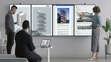 Microsoft Surface Hub2 - Specially designed for teams