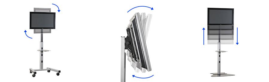 What adjustment options should the bracket offer?