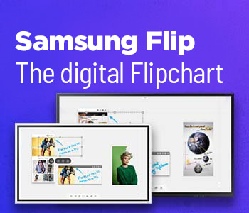 Samsung Flip   The digital Flipchart