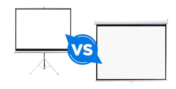 Is there a difference between projector screens?
