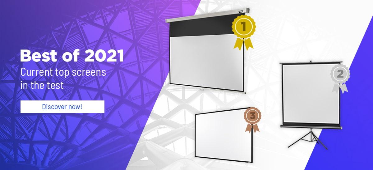 Best of 2021 - projector screen test