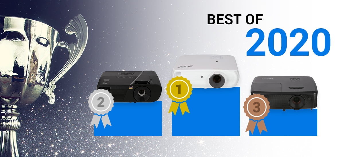 Best of 2020 - Current top projectors in the test